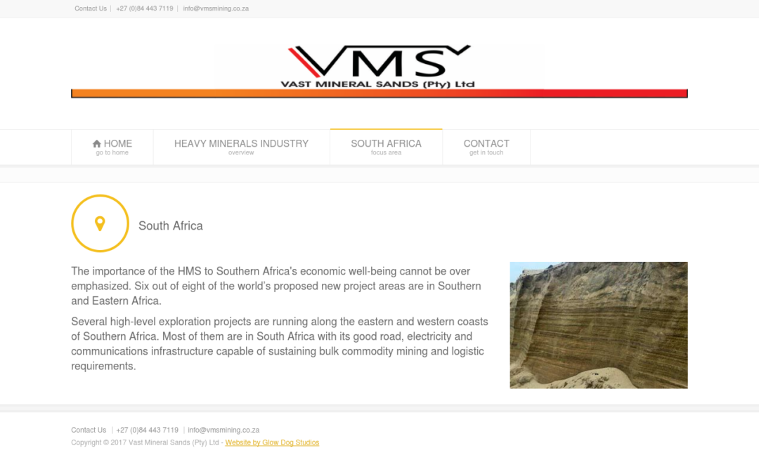 Vast Mineral Sands (Pty) Ltd
